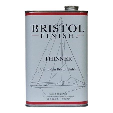 Bristol Finish Thinner for Traditional Amber Urethane- 32 oz.