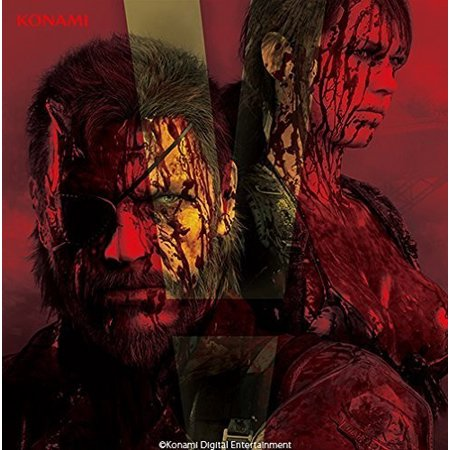 Metal Gear Solid 5: Lost Tapes Soundtrack (CD) - Heavy Metal Halloween Soundtrack