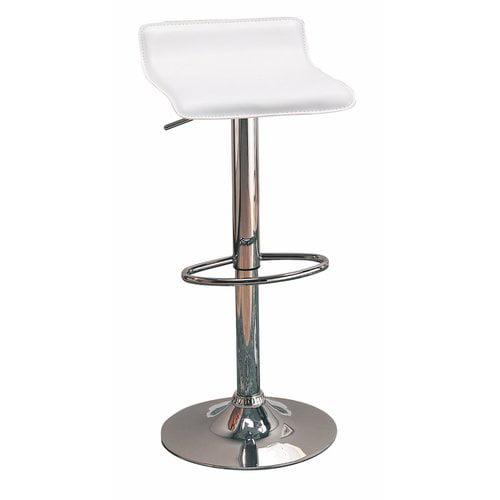 Orren Ellis Wooster Backless Seat Adjustable Height Swivel