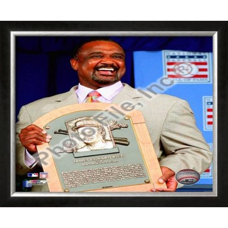 Jim Rice 2009 Hall of Fame Induction Ceremony Framed Photographic Print Wall (Rice Hull Garden)