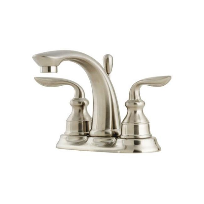 Price Pfister LF048CB0K Avalon Double Handle Lavatory Faucet  Brushed Nickel - 4 in. - image 1 de 1