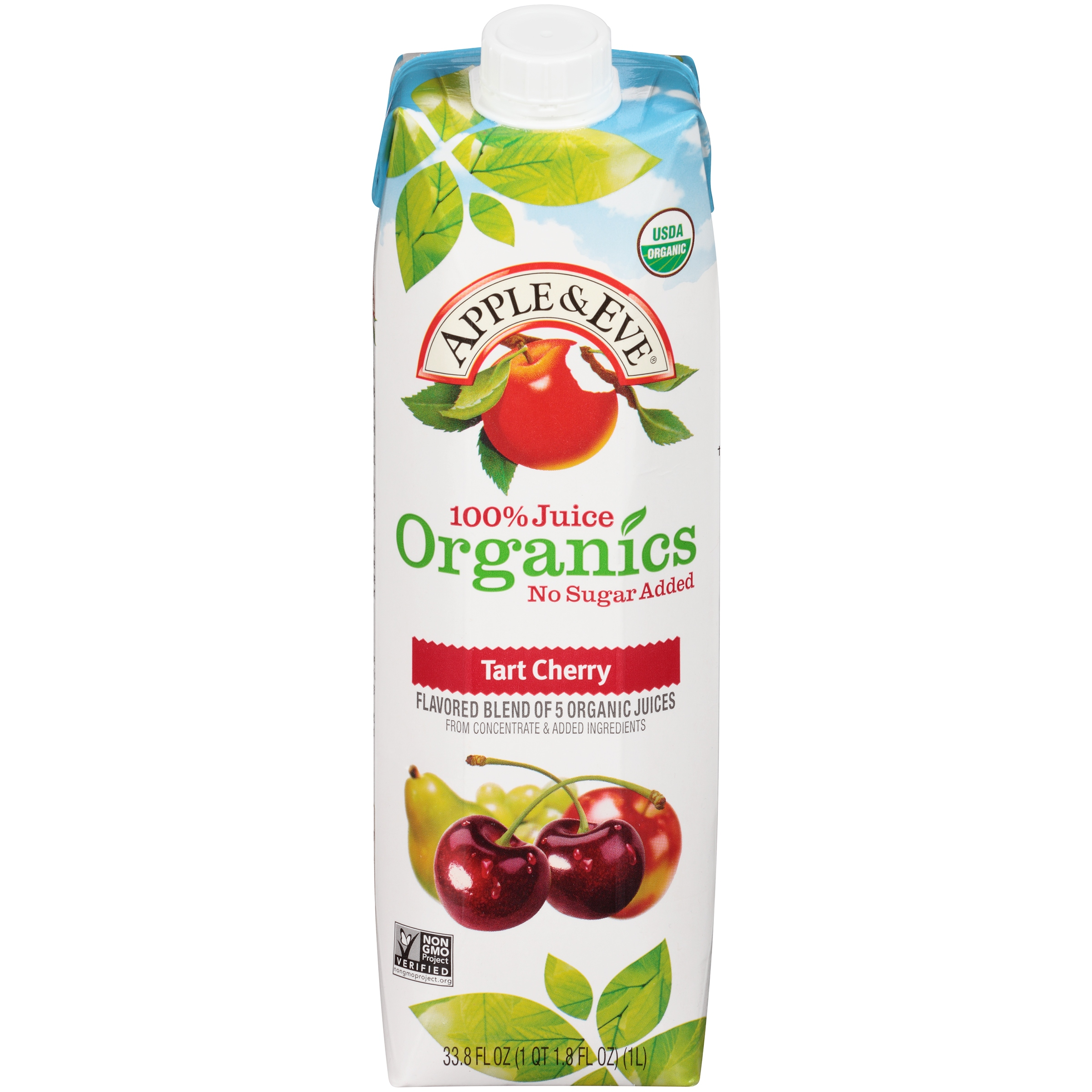 bdb4bf91f70 Apple   Eve® 100% Juice Organics Tart Cherry Juice 33.8 fl. oz. Carton -  Walmart.com