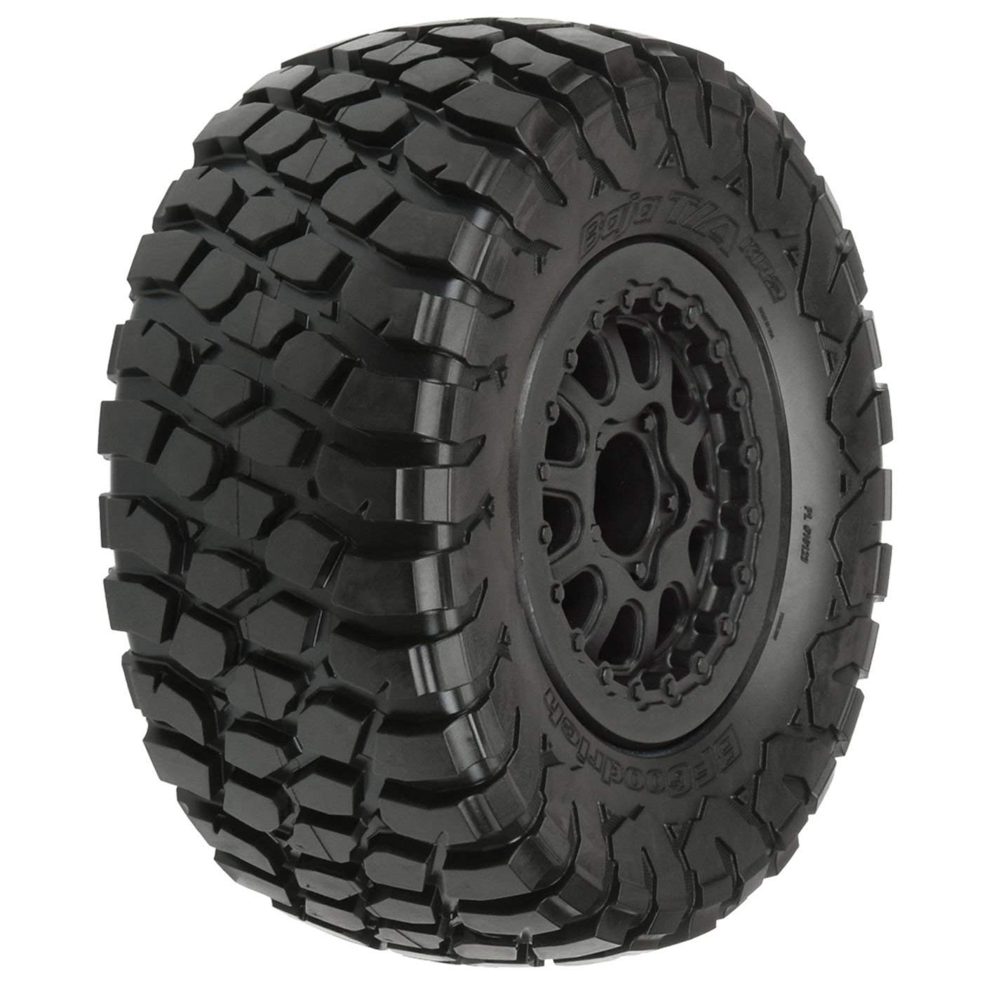 1012313 BF Goodrich Baja T/A Kr2 M2 SC 2.2/3.0 Tires On Black Renegade Wheels for Slash/Slash 4X4, Made from Pro-Line's legendary M2 rubberWalmartpound By PROLINE,USA