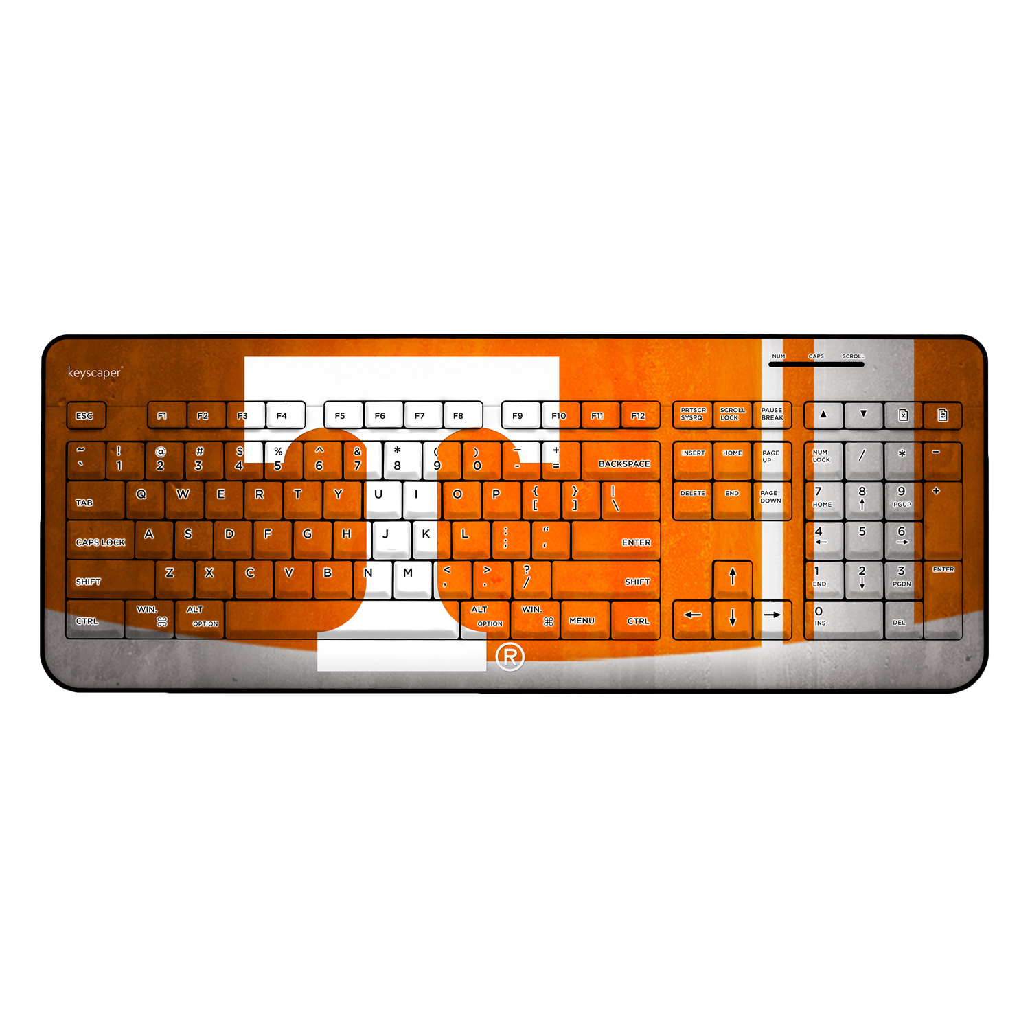 Tennessee Wireless USB Keyboard NCAA