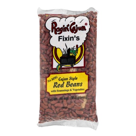 - (2 Pack) Ragin' Cajun Fixin's Cajun Style Red Beans, 16 oz