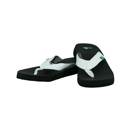 ee658a381b5675 Women s Yoga Mat White Sandal - 7M - Walmart.com