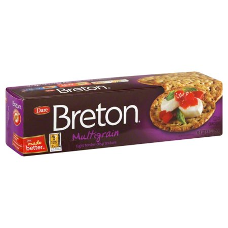 Dare Breton Multigrain Crackers, 8.8 Oz. ()
