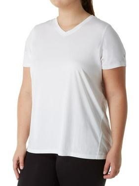 07b1dccf Product Image Women's Champion QW5401 Plus Size Vapor Select X-Temp V-Neck  Tee w/