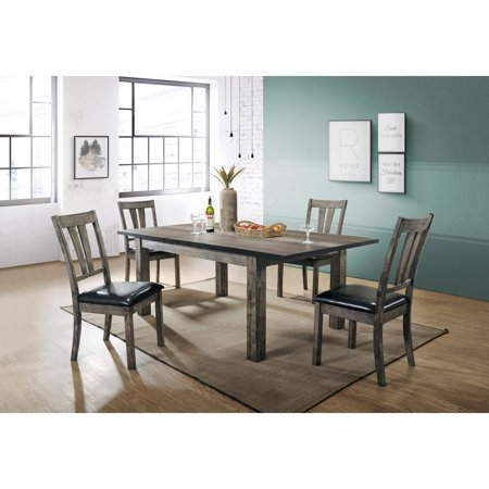 Cambridge Drexel Dining 5 Piece Set With Four Cushioned Chairs
