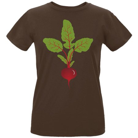 Halloween Vegetable Beet Costume Womens Organic T Shirt (Organic Halloween Costumes)