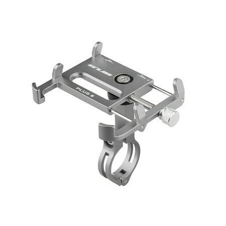 GUB Bicycle Phone Holder 360 Degree Rotating Length Adjustable Aluminum Bike Handlebar Mount Cycling Clip-on Phone Clamp