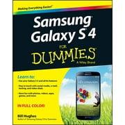 Samsung Galaxy S 4 For Dummies - eBook