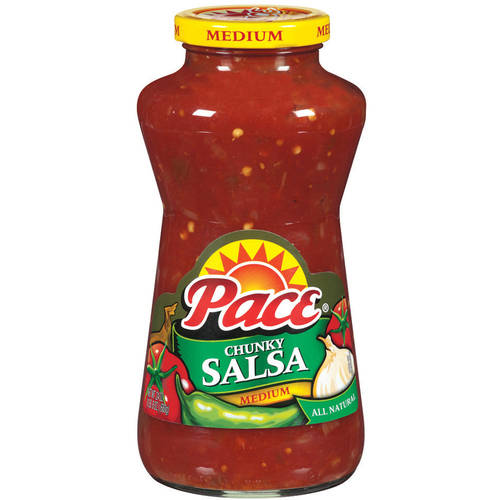Pace Thick & Chunky Medium Salsa, 24 oz