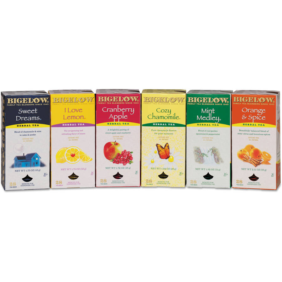 Bigelow Assorted Tea Packs, 9.99 oz, 168 count