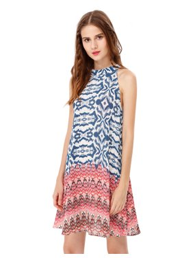 a417636ae8e Product Image Ever-Pretty Womens Halter Party Summer Boho Casual Beach Sun  Dresses for Women 5589 US