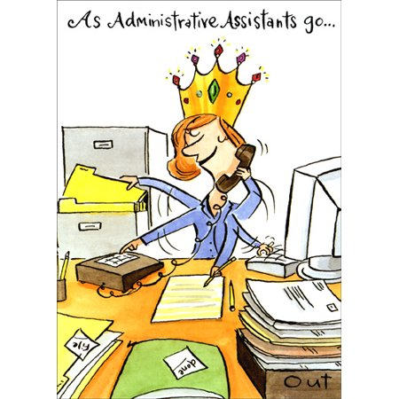 Recycled Paper Greetings You Rule Administrative Professional's Day