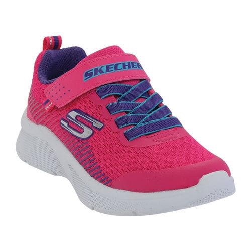 girls pink skechers