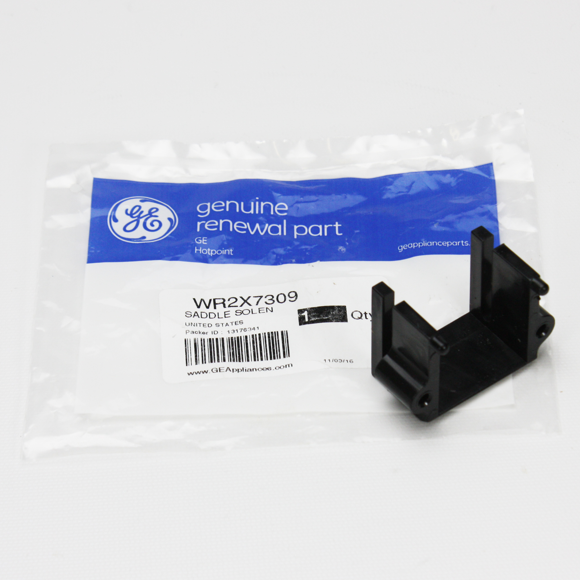 WR2X7309 For GE Refrigerator Solenoid Saddle
