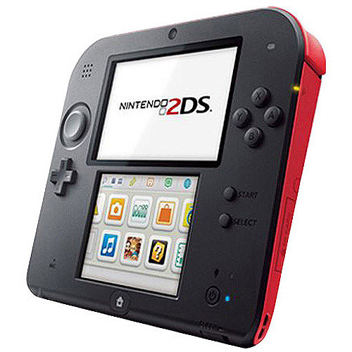 Nintendo 2DS Handheld Video Game System, Crimson Red
