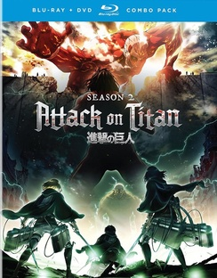 Attack on Titan: The Complete Season Two (Blu-ray) by Funimation