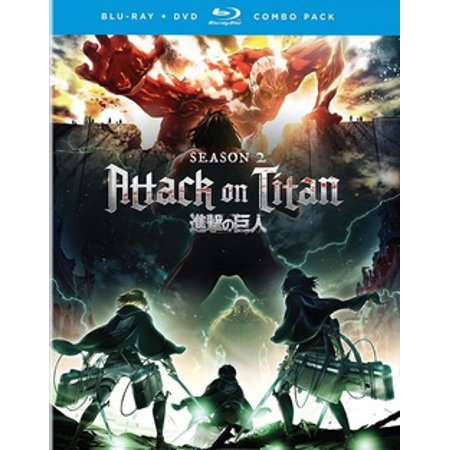 Attack on Titan: The Complete Season Two (Blu-ray) for $<!---->