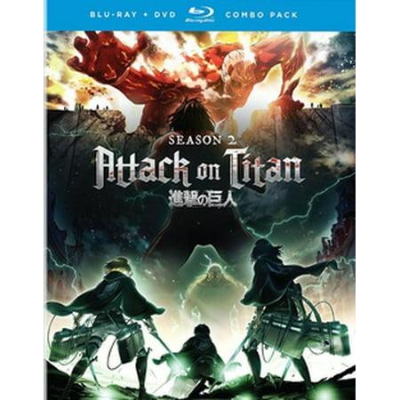 Attack on Titan: The Complete Season Two (Blu-ray) - Walmart.com