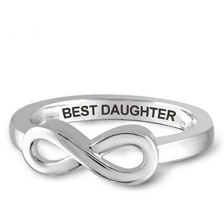 Jewelers Club Infinity Ring