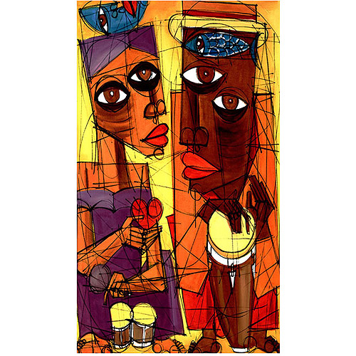 """Trademark Fine Art """"Al Sol del Sentimiento"""" Canvas Art"""