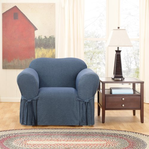 Sure Fit Denim Chair Cover