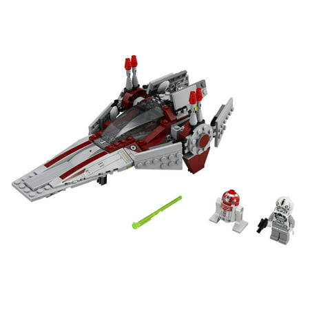 Wing Starfighter - LEGO® Star Wars™ Revenge of the Sith V-Wing Starfighter w/ 2 Minifigures | 75039