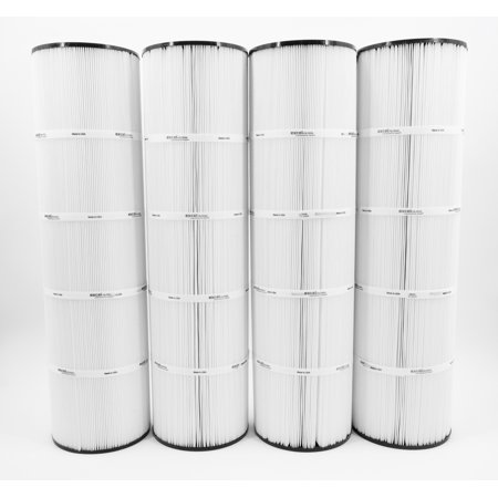 4PACK XLS-718 Pool Filter Cartridge replaces PENTAIR CLEAN CLEAR PLUS 420, PCC105, C-7471, (Pentair Clean & Clear Cartridge)