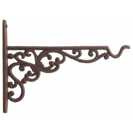 Cast Iron Plant Hanger - Ornate Victorian Pattern - 10
