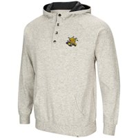 Mens Wichita State Shockers Henley Fleece Hoodie - S