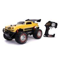 Jada Toys - 1:12 Transformers R/C 1977 Camaro, Bumblebee
