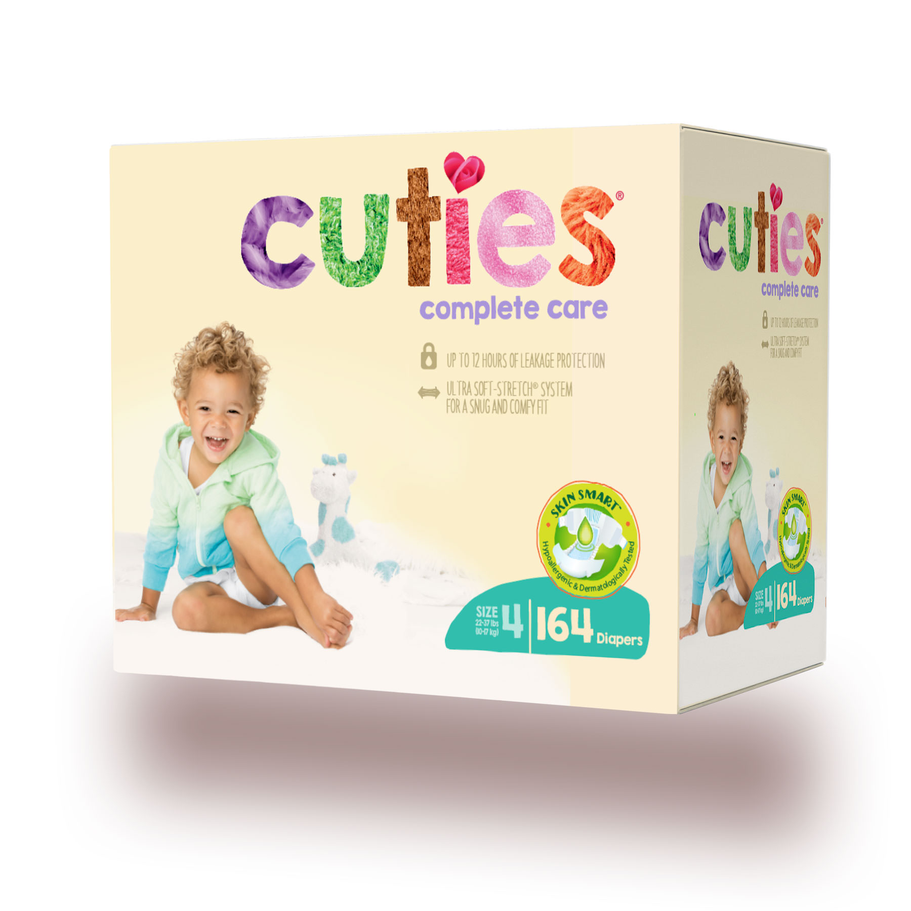 Cuties Complete Care Baby Diapers (Choose Size and Count)