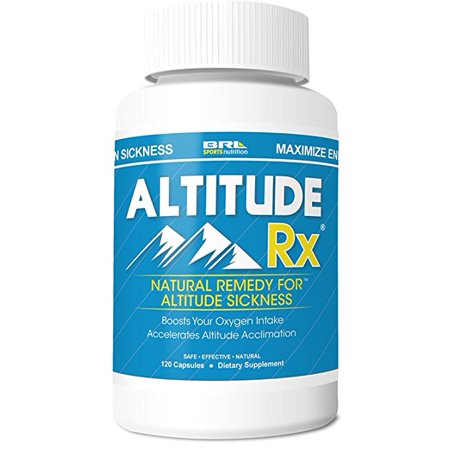 ALTITUDE RX: Natural Remedy For Altitude Sickness (120
