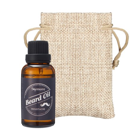 Skymore Beard Oil for Men , 100% Pure Blend of Natural Ingredients, Beard Growth & Mustache Care Products, Beard Softener, Best Gift for Gentlemen,Father's