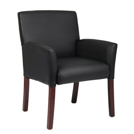 Boss Office Products Black Reception Waiting Room Chair](Ball Office Products)