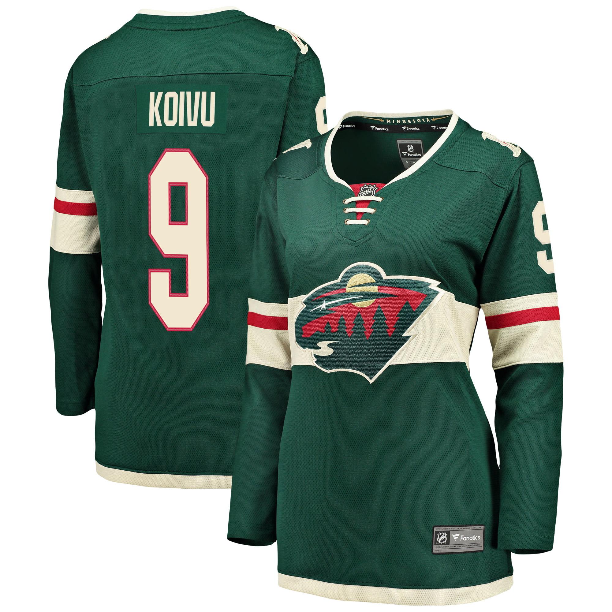 Mikko Koivu Minnesota Wild Fanatics Branded Women's Breakaway Player Jersey - Green