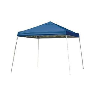 Sport Slant Leg 12 x 12 ft. Pop-up Canopy (Blue) With Full Valance