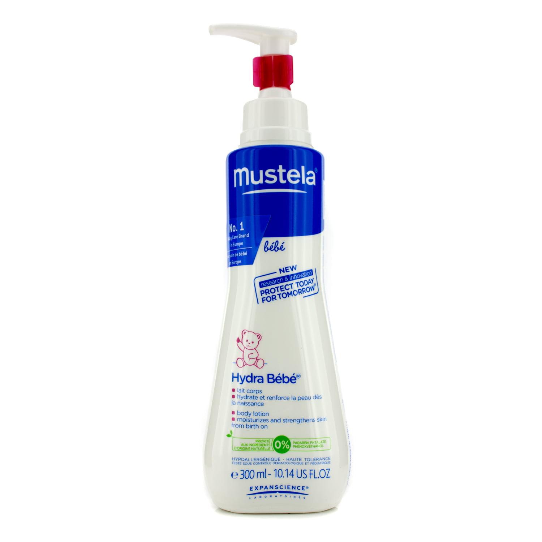 Mustela Hydra-Bebe Body Lotion Normal Skin 300ml 10.14oz by Mustela