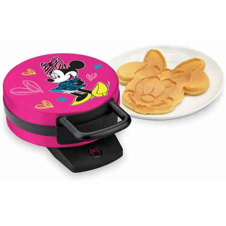 Disney Dmg 31 Minnie Mouse Waffle Maker Pink Walmart Com
