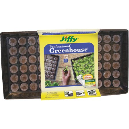 Jiffy Professional Greenhouse Seed Starter Kit With (Planting Tray)