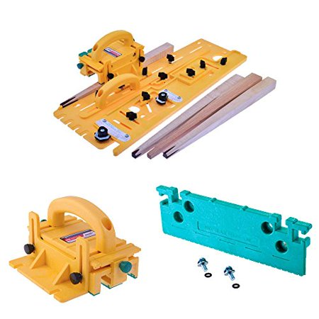 Microjig Tj 5000 Microdial Tapering Jig With 3D Pushblock And Leg Accessory