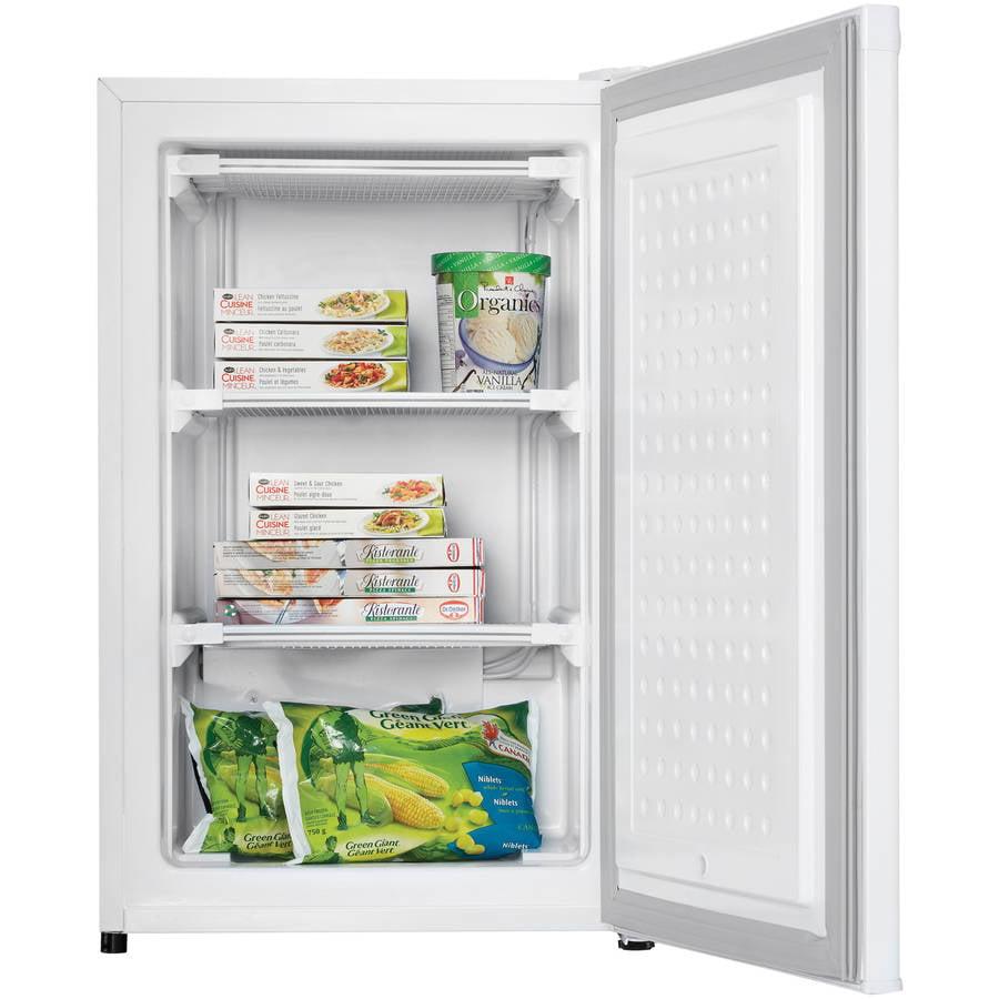 Danby 3.2 cu ft Upright Freezer, White