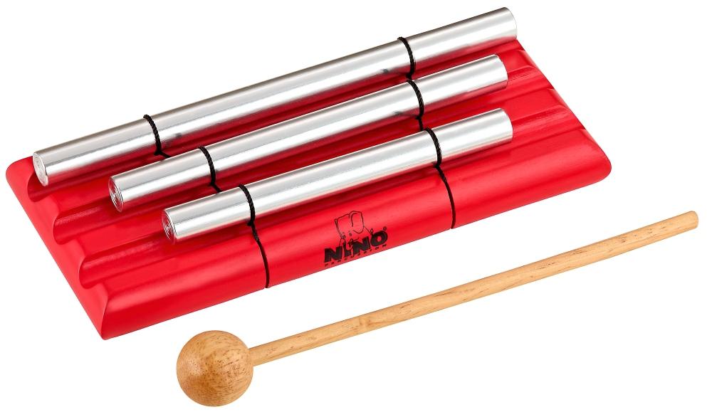 Nino Energy Chimes 3 Rows Red by Nino