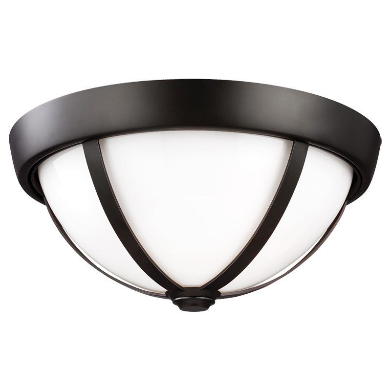 Feiss Amato FM444ORB Flush Mount Light by Murray Feiss