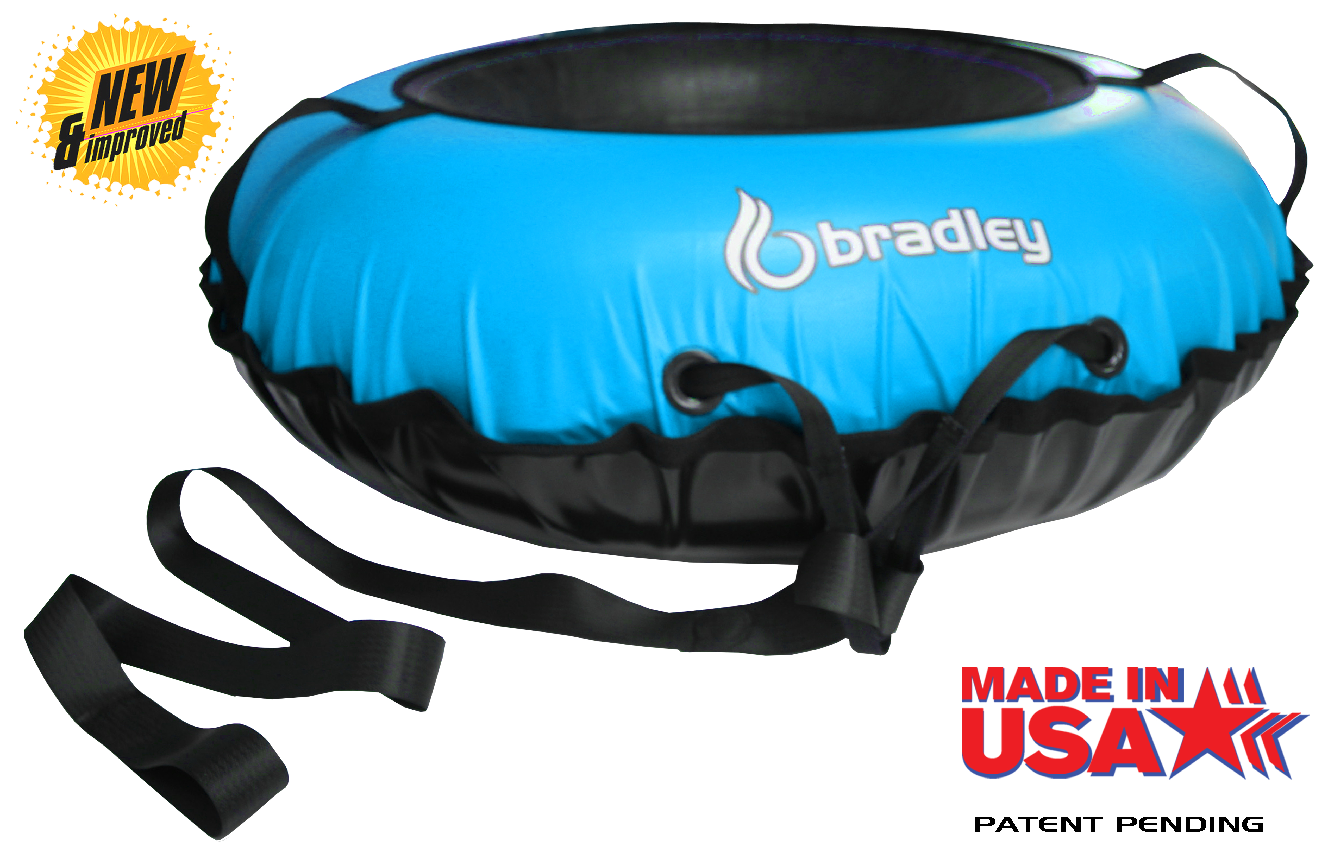 Bradley Ultimate Tow-able Snow Tube Sled and Heavy Duty Cover � by Bradley