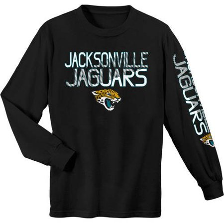 NFL Jacksonville Jaguars Youth Long Sleeve Cotton Tee by