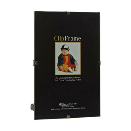 MCS Glass Clip Picture Frame for a 12x16